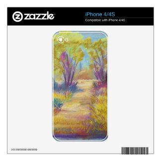 PastelPath.jpg Skin Para El iPhone 4