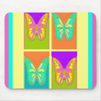 Pastels Butterfly Art Gifts By Sharles Mousepad