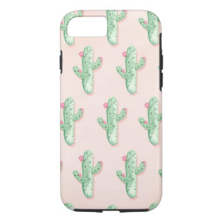 Pastels Cactus print iPhone 7 Case