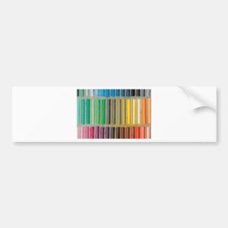 pastels cretaceous about color bumper sticker