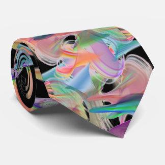 Pastels Swirls Tie