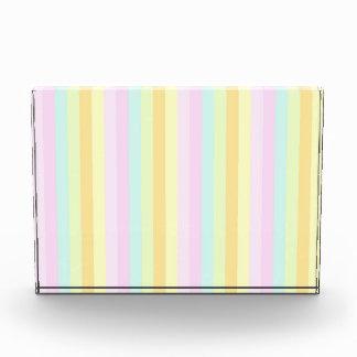 Pastels Vertical Stripes Award