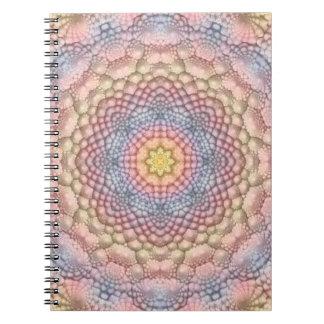Pastels  Vintage Kaleidoscope   Notebook