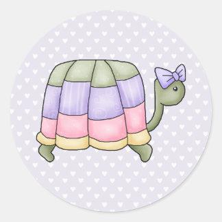 pastelturtle classic round sticker