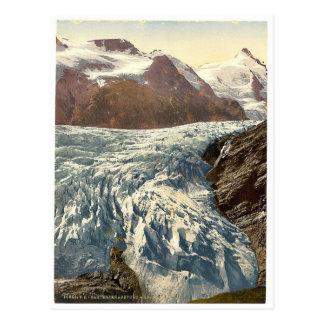 Pasterzenabsturz and Grossglockner, Carinthia, Aus Postcard