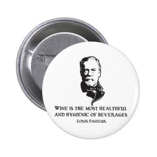 Pasteur - vino pin redondo de 2 pulgadas