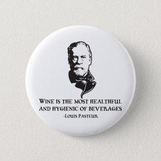 Pasteur - Wine Button