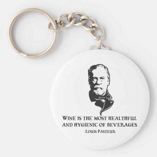 Pasteur - Wine Key Chain