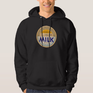 Pasteurized Milk :: Customizable Retro Dairy Cap Hoodie