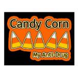 Pastillas de caramelo antinarcóticas tarjetas postales