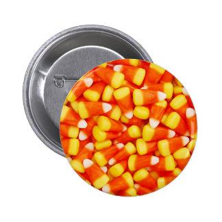 Pastillas de caramelo coloridas pin redondo de 2 pulgadas