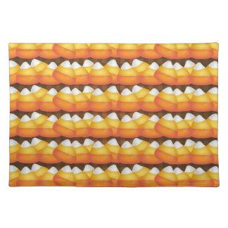 Pastillas de caramelo de Halloween Mantel