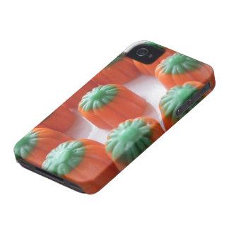Pastillas de caramelo de la calabaza carcasa para iPhone 4 de Case-Mate