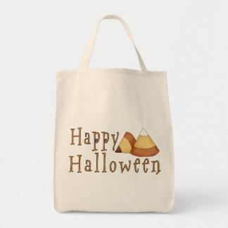 Pastillas de caramelo del feliz Halloween Bolsa Tela Para La Compra