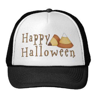 Pastillas de caramelo del feliz Halloween Gorras