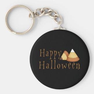 Pastillas de caramelo del feliz Halloween Llaveros Personalizados