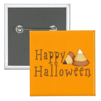 Pastillas de caramelo del feliz Halloween Pin Cuadrada 5 Cm