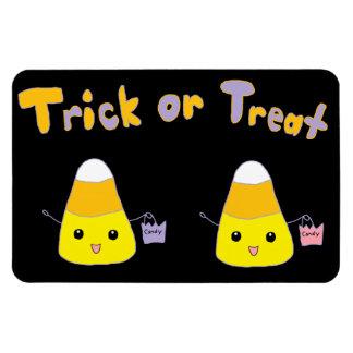 Pastillas de caramelo del truco o de la invitación iman flexible