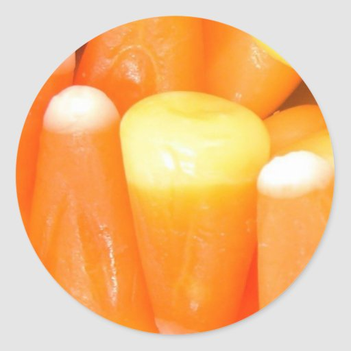 Pastillas de caramelo etiquetas redondas