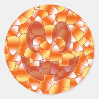 Pastillas de caramelo Jack Etiquetas Redondas