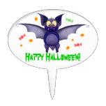 Pastillas de caramelo lindas de Halloween del palo Decoración Para Tarta