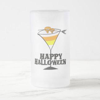 Pastillas de caramelo Martini de Halloween Taza De Cristal