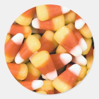 pastillas de caramelo pegatina redonda