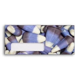 Pastillas de caramelo púrpuras sobre