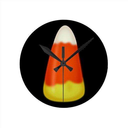 Pastillas de caramelo reloj de pared