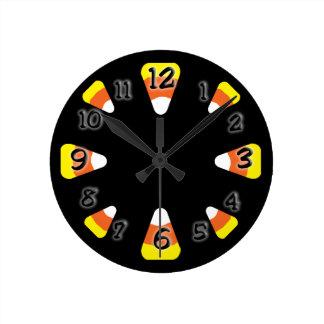 Pastillas de caramelo reloj redondo mediano