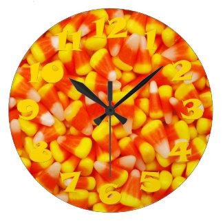 Pastillas de caramelo reloj redondo grande