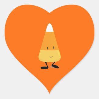 Pastillas de caramelo sonrientes calcomanías corazones