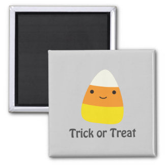 Pastillas de caramelo - truco o invitación imán cuadrado