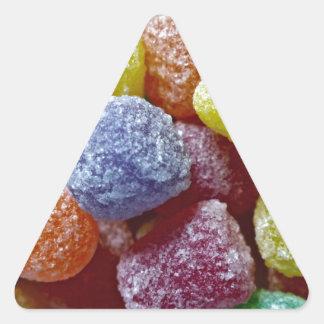 Pastillas de goma de la especia pegatina triangular