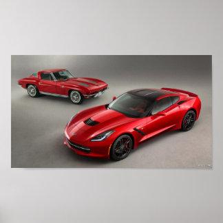 Pastinaca 2014 de Chevrolet Corvette Póster