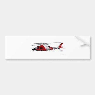 Pastinaca de Agusta MH-68 Pegatina Para Auto