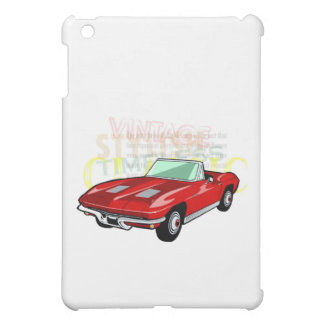 Pastinaca del Corvette o coche de deportes roja de