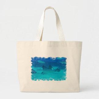 Pastinaca subacuática bolsas de mano