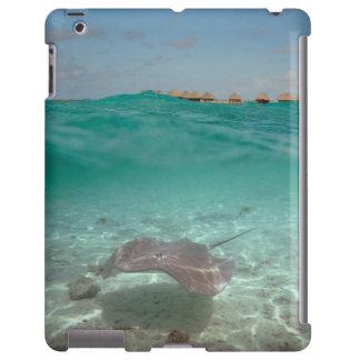 Pastinaca subacuática en caso del iPad de Bora Funda Para iPad