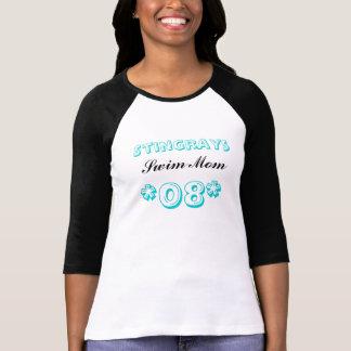 Pastinacas, *08*, mamá de la nadada camiseta