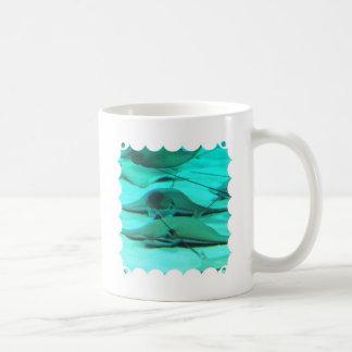 Pastinacas en la taza de café del suelo marino