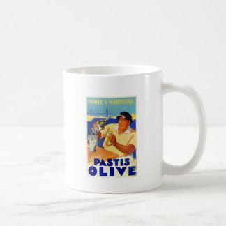 Pastis Olive - Comme a Marseille Coffee Mug