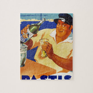 Pastis Olive - Comme a Marseille Jigsaw Puzzle