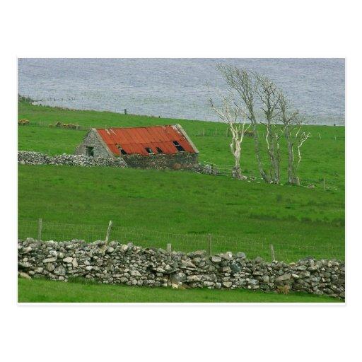 Pasto atlántico de la costa, Irlanda Postal