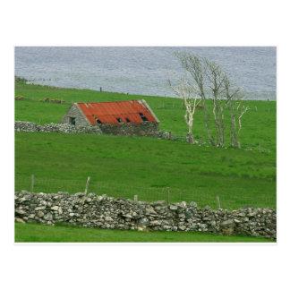 Pasto atlántico de la costa, Irlanda Tarjetas Postales