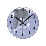 pasto azul del caballo en imagen equina relojes