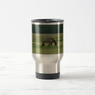 Pasto Caballo-marrón/gris del proyecto belga Tazas De Café