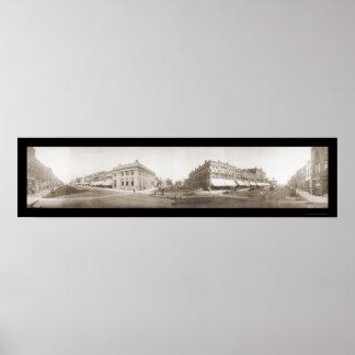 Pasto de Albert, foto 1908 del manganeso Póster