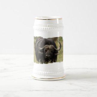 Pasto de la cerveza Stein del búfalo de agua Tazas
