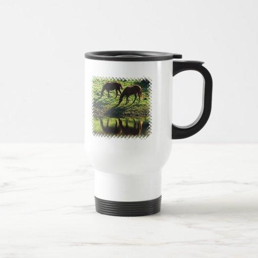 Pasto de la taza plástica del viaje de los pares d
